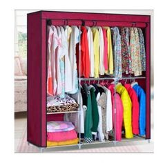HHAiNi Closet Organizer Storage Rack