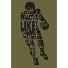 Football Practice Wall Mural - $69.95 // For the youthful sports enthusiast.