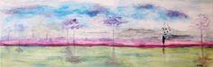 """""""Haata Land"""" Acrílico sobre tela canvas 60 x 20 Autor: Guma 2016 Disponível para adopção"""