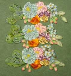antique passementerie appliques   ... Art Flower Applique   Vintage Passementerie   Vintage Passementerie