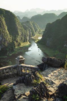 Fantastiske naturlandskap i Vietnam - Scenery Visit Vietnam, Vietnam Travel, Asia Travel, Nature Living, Places To Travel, Places To See, Travel Destinations, Vietnam Voyage, Travel Aesthetic