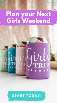 Girls Weekend, Girls Night, Cool Gifts, Best Gifts, Bachelorette Party Planning, Planning Budget, The Perfect Girl, Girls Getaway, Speech And Language
