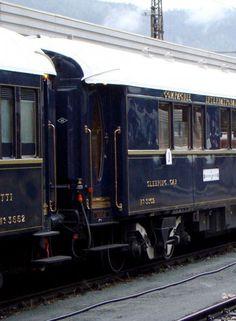 ♔ Venice Simplon Orient-Express By Train, Train Tracks, Train Rides, Simplon Orient Express, La Madone, Trains, Vintage Cabin, France Travel, Locomotive