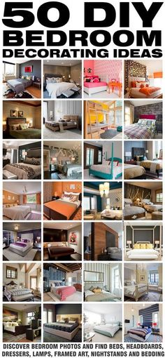 50 Bedroom DIY Decorating Ideas To Inspire You!… | NEW Decorating Ideas