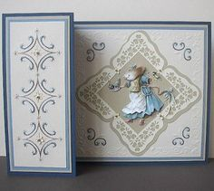 Erica Fortgens embossing and embroidery on paper. Lovely.