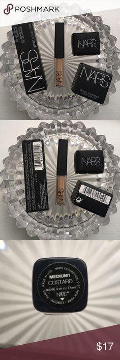 ♥️NEW!♥️NARS 2Pc Radiant Concealer+Dual Sharpener ♥️NEW!♥️NARS 2Pc Radiant Creamy Concealer in Custard (Medium) (0.05oz)+Dual Sharpener. ALL BRAND NEW & UNTOUCHED!🚫Trades🚫Price Firm Unless Bundled Sephora Makeup Concealer