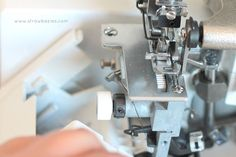 Threading Your Serger - could this be any more difficult?  Make it Handmade provides clear cut instructions.