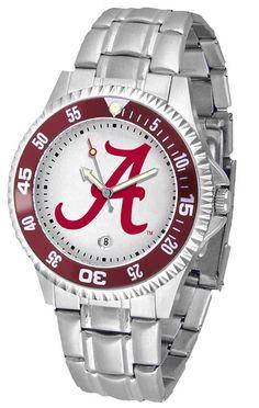 Alabama Crimson Tide Competitor Steel Watch In Both Men or Ladies – Cooler Time