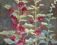 Wild flower paintings