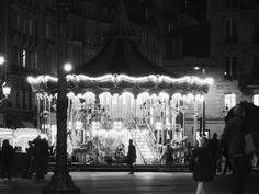 #fotografia #paisajes #photo #blancoynegro #tiovivo #paris #francia #europa