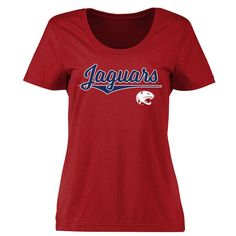 South Alabama Jaguars Women's American Classic Classic Fit T-Shirt - Red