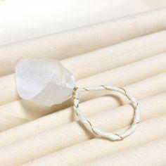 和紙ジュエリー指輪