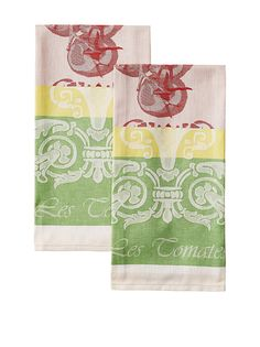 Garnier Thiebaut, Les Tomates Rouge Woven French Kitchen Towel, 100 % Cotton, Made In France >>> Learn more by visiting the image link.