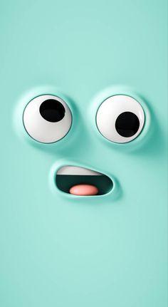 Handy Wallpaper, Crazy Wallpaper, Cute Emoji Wallpaper, Funny Iphone Wallpaper, Graffiti Wallpaper, Cartoon Wallpaper Iphone, Iphone Background Wallpaper, Cute Disney Wallpaper, Apple Wallpaper