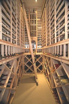 custom wine cellars michigan rolling hook ladder left duvino wine wwwvinoduvino bellevue custom wine cellar
