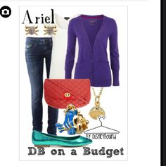 Ariel inspired outfit on a budget... i need the shoes!!!