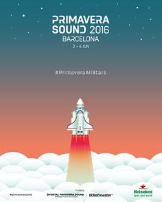 Get ready for #primaverasound 2016! #PrimaveraAllStars
