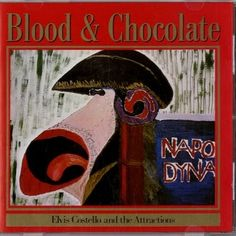 Elvis Costello & The Attractions - Blood And Chocolate LP