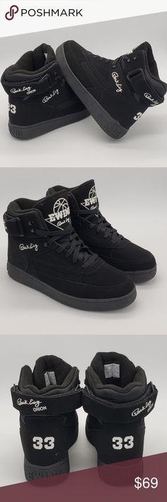 sports shoes 16081 67600 Patrick Ewing Orion Sneakers Black White Sz 8.5 Patrick Ewing Orion Shoes  Sneakers Black White Sz
