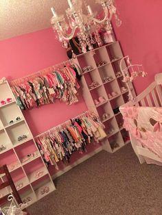 New Kids Room Ideas For Girls Princess Daughters Ideas Baby Bedroom, Baby Room Decor, Nursery Room, Girl Nursery, Girl Room, Kids Bedroom, My Baby Girl, Baby Boys, Baby Girl Closet