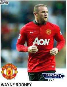 Wayne Rooney Topps Card