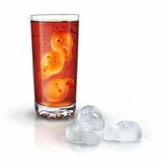 Creepy Halloween Ice Cubes ...can't use the link unless I sign up :-( Cool ice cubes for Halloween though.