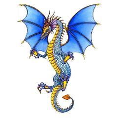 colorful dragon tattoo - Google Search