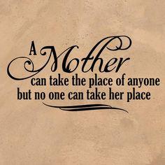Still missing you, Momma!