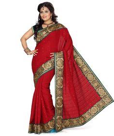 Bhaglapuri Silk Saree with Blouse