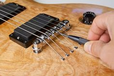 Don't expect your guitar to play well and sound great just because it has strings. Chances are, that it's not properly setup. With the proper adjustments, it