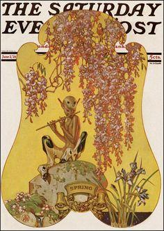 'SPRING' by J.C. Leyendecker — June 2, 1928