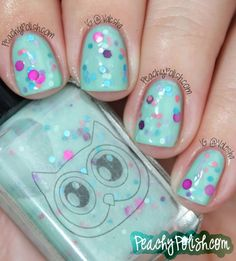 """White Owl Lacquers """"Water Lilies"""""""