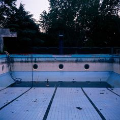 abandoned pools--what are the holes for?
