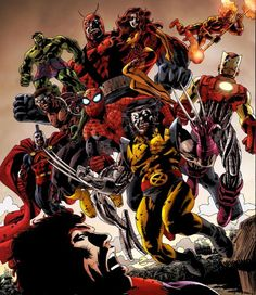 Marvel Zombies | Marvel Zombies Vol 2 Group Shot