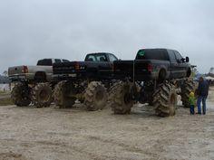 lifted dodge truck | My buddies Mud Truck - Dodge Durango Forum and Dodge Dakota Forums