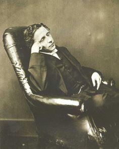 Charles Dodgson. Marika von Zellen wrote a poem about this man.  http://www.alligatormagazine.com/2013/01/