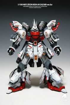 MG 1/100 Sazabi Ver.Ka: Latest Work by OASIS [gonzo2000]. Full photoreview [WIP too] No.46 Big or Wallpaper Size Images