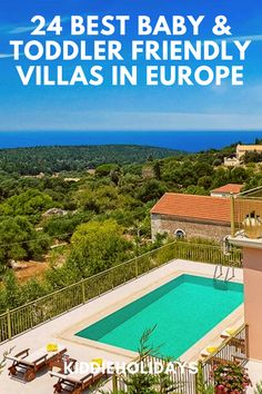 If you're planning a villa holiday for babies or toddlers, then the type of villa you choose is of key importance. That's where we can help! We've chosen the best baby and toddler friendly villas in Europe, so you can be certain they have the facilities and features you need. Not sure where to start? Don't worry! We've already scouted out some of the best baby and toddler friendly villas in Europe for you. #babyfriendly #toddlerfriendly Spain Holidays, Villa Holidays, Toddler Friendly Holidays, Villas In Europe, Puerto Del Carmen, Beach Village, Hills Resort, Kid Pool, Outdoor Swimming Pool