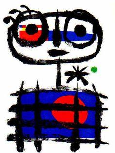 """""""Le mangeur de soleil"""", de Miró."""