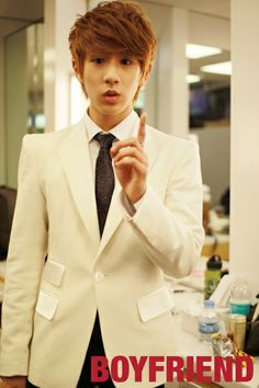 Cute…Minwoo teaching you a lesson! Listen to him now.