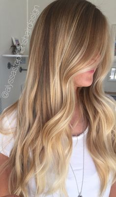 golden sunkissed blonde balayage long hair balayage hair color Long Hair Styles, Beauty, Beleza, Long Hairstyle, Cosmetology, Long Hairstyles, Long Hair Cuts, Long Hair Dos