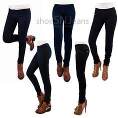 Women Skinny Jeggings Stretchy Denim Elastic Band Sexy Pants Legging Jean #Unbranded #Jeggings