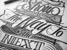 Elegantly Hand-Lettered Slogans & Logotypes