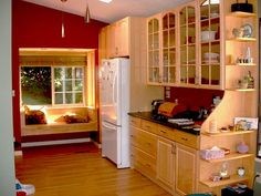 Inexpensive Kitchen Remodel Roman Shades and Kitchen Remodel Tips Hardware. 1970s Kitchen Remodel, Kitchen Remodel Pictures, Budget Kitchen Remodel, Galley Kitchen Remodel, Ranch Kitchen, Remodel Bathroom, Kitchen Sink, Kitchen Decor, Kitchen Cabinets