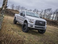 2016 F150 with a BDS 2015-2016 F150 6-Inch Suspension Lift Kit