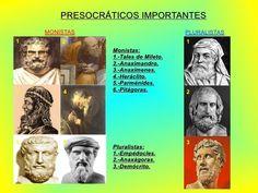 Los monistas (del término griego sólo, único) son los filósofos presocráticos, que postulaban un único ἁϱχή (arjé) o principio constitutivo de las cosas, que es lo verdaderamente existente, y que a partir de él surge la pluralidad por procesos físicos.