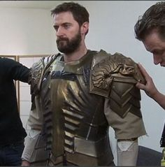 The Hobbit: The Battle of the Five Armies  behind the scenes BTS - Richard Armitage