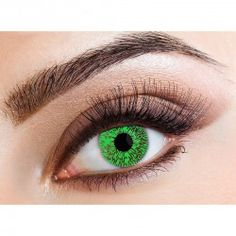 Green One Tone Enhanced Colored Contact Lenses (Monthly)