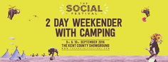The Social Festival 2016 will take place on Friday 9th September and Saturday 10th September at our new home, The Kent County Showground! Line up: Friday 9th September In aphabetical order: Andrew Weatherall Caruana Eats Everything Enzo Siragusa Guy Gerber Jake Hillery Loco Dice Marco Faraone Nastia Nic Fanciulli Paranoid London Paul Kalkbrenner Tom Trago …