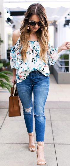 35 Coolest Summer Outfit Ideas To Look Chic - Gravetics Cozy Winter Outfits, Cool Summer Outfits, Mom Outfits, Spring Outfits, Casual Outfits, Look Fashion, Fashion Outfits, Womens Fashion, Fashion Tips
